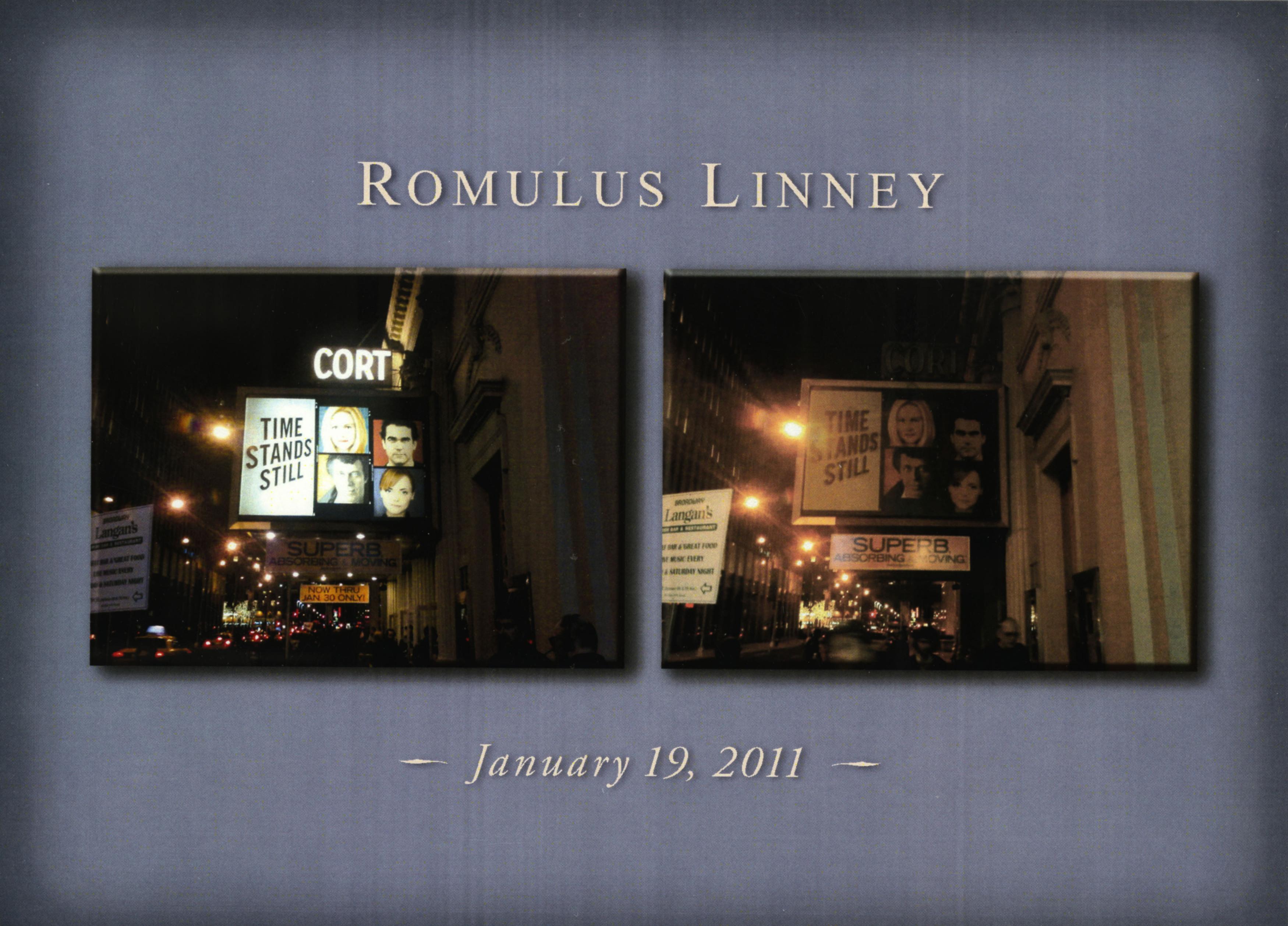 Lights Dimmed on Broadway