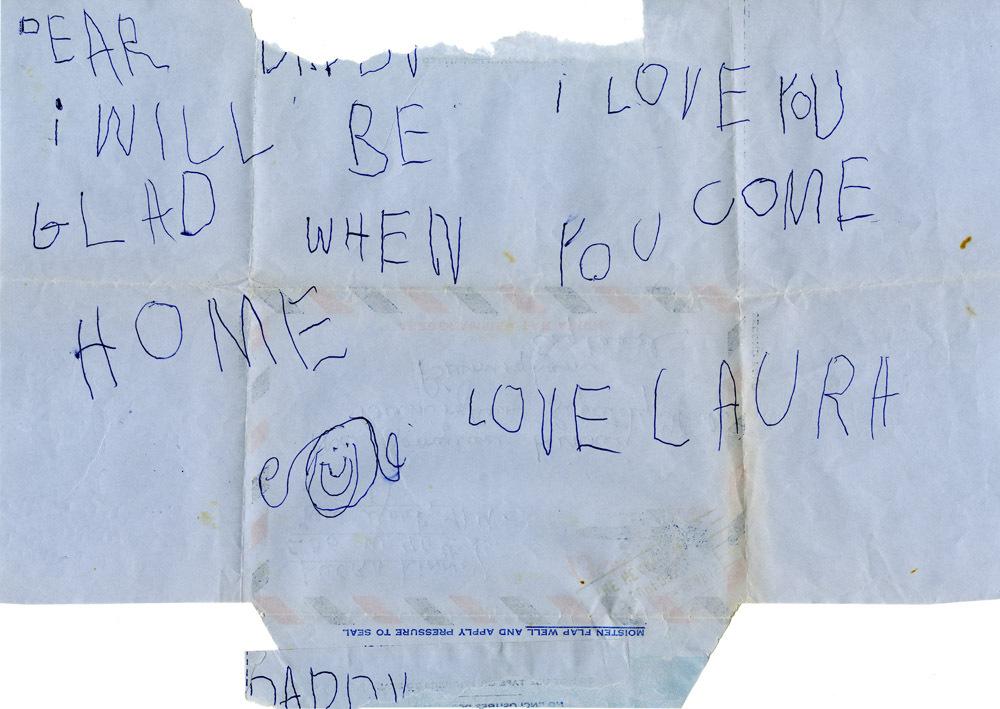 Letter from Laura Linney to Romulus Linney