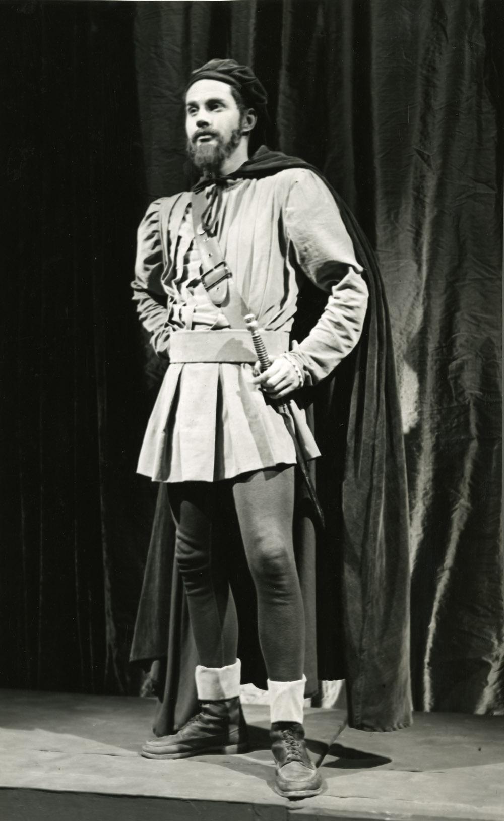 Romulus Linney as Iago