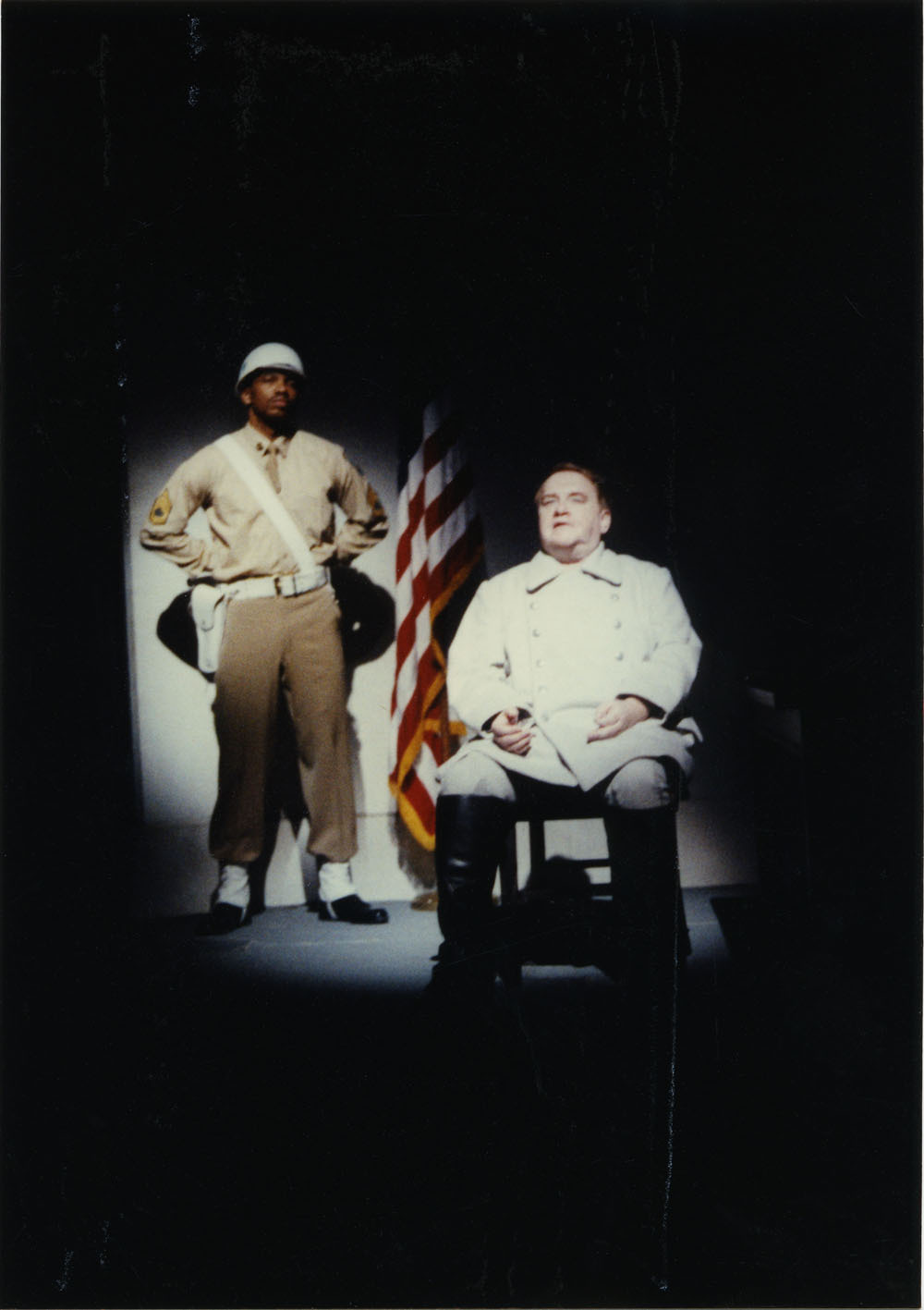 Photograph of the 1990 Actor's Theatre of Louisville production of <em>2</em>
