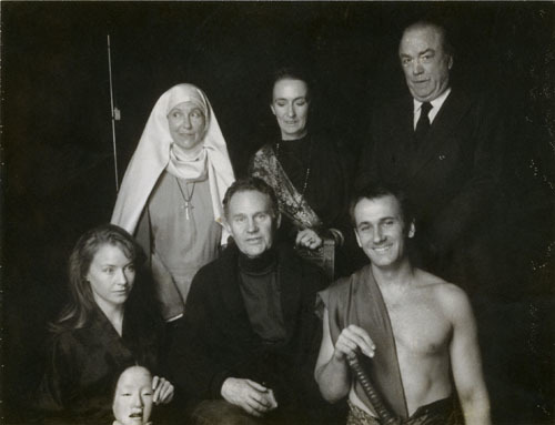 Cast photo from <em>Three Poets</em> at Theater for the New City