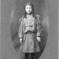 Portrait of Young Girl (Faris. Marion, Va.)
