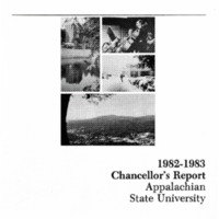 Appalachian State University Annual Reports: Chancellor's Report, 1982-1983