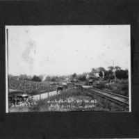 Wreck near Glade Springs, July 3, 1916, photo 1