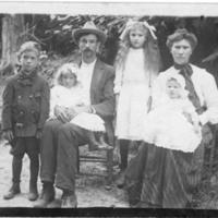 Postcard of the Lum Family