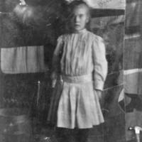 Postcard of Annie Cook