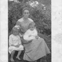 Postcard of Nannie Cook's Family