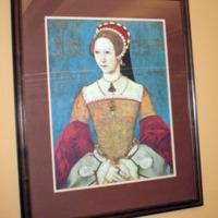 Mary I, by Master John when she was 28 and still a Princess