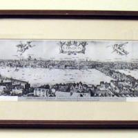 Panorama of 17th Century London