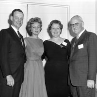 Representative Broyhill, his wife Louise and his parents