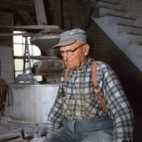 Mr Turner Turner's Mill Shenandoah Valley c1974