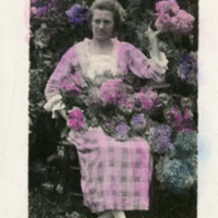Postcard of Lockie Carpenter