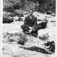 Postcard of Steve Carpenter