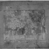Women and Children Standing in Front of House [Kenova, W.Va.]