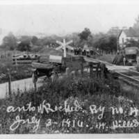 Wreck near Glade Springs, July 3, 1916, photo 2