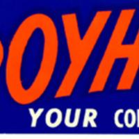 """Re-elect Broyhill Your Congressman"" bumpersticker"