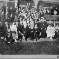 Group Photo, Party of Asheville, NC, Jewish Community, circa 1920
