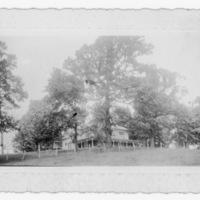 "Large Two-Story Frame House - Handwritten: ""Bel Alto"" Seven Mile Ford, Va."