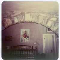 Rock Arch Leading to Bedroom View in Ripshin (Sherwood Anderson House)