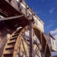 Wade's Mill Shenandoah Valley c1979