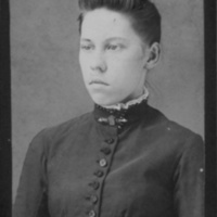 Portrait of Young Woman (Walter Noel, Wytheville, Va.)