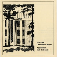 Appalachian State University Annual Reports: Chancellor's Report, 1979-1980