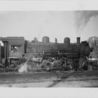 Locomotive No. 1016 with Engineer