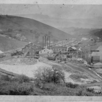 Lumber Mill with Railroad Tracks Coming In