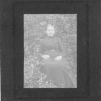 Postcard of Lousia Cook