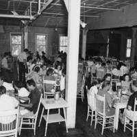 Photo, Blue Ridge Campus Dining Room, Black Mountain College, ca. 1940