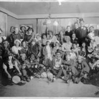 Group Photo, Costume Party of Asheville, NC, Jewish Community, circa 1920
