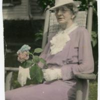 Mrs. Mary Stuart Carter Tyler-Jennings Seated in Rocker
