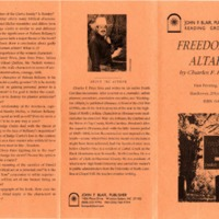 Freedom's Altar by Charles F. Price