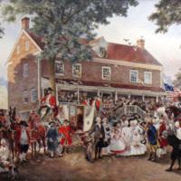 Old Salem's First Presidental Reception