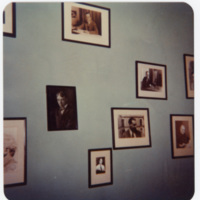 Wall Decorated with Photographs in Ripshin (Sherwood Anderson House)