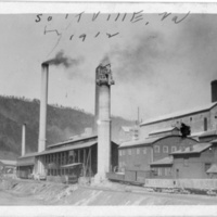 Mill Buildings - Handwritten: Saltville, Va. 1912