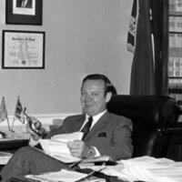 Representative Brohyill in his office