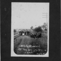 Wreck near Glade Springs, July 3, 1916, photo 3