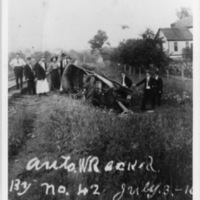 Wreck near Glade Springs, July 3, 1916, photo 4