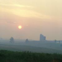 Sunrise Shenandoah Valley c1979