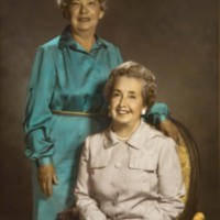 Eunice Query and Ida Justice