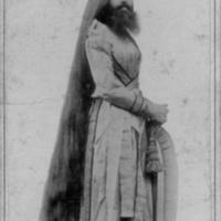 Portrait of Bearded Lady - Miss Annie Jones New York