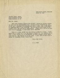 Letter, J.A. Rice to Mr. Olson, March 19, 1956
