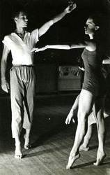 Photo, Betty Jennerjahn and Merce Cunningham, 1948