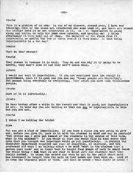 Page 11 of faculty meeting transcript on October 19, 1936