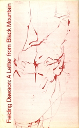 """Pamphlet, """"Fielding Dawson: A Letter from Black Mountain,"""" 1974"""