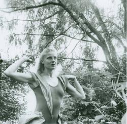 Photo, Katharine Litz, ca. early 1950s